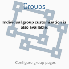 How do I configure group layout?