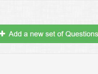 Click '+Add a new set of questions'