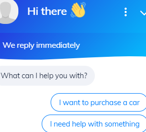 Example chatbot