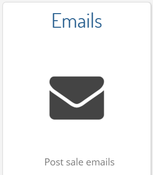 Click on the 'Emails' section