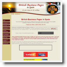 British Business Pages In Spain DotGO website builder review