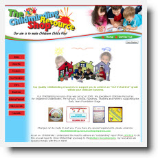 Childminding Resource Shop DotGO website builder review