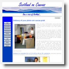 Scotland On Canvas DotGO website builder review