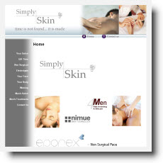 Simply Skin DotGO website builder review