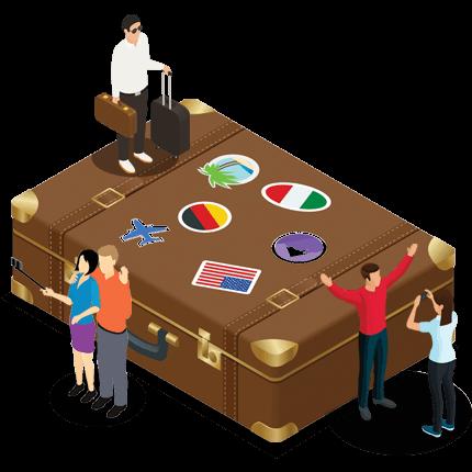 website design for Hotels and travel