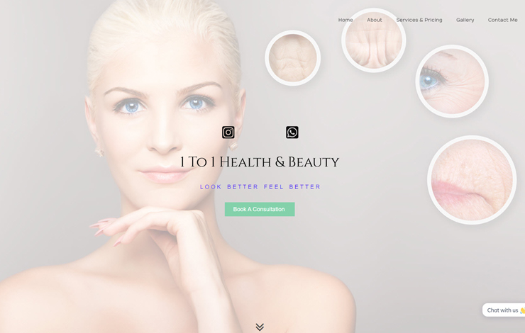 Aesthetic Treatments Oxford | 1 To 1 Health & Beauty | Home