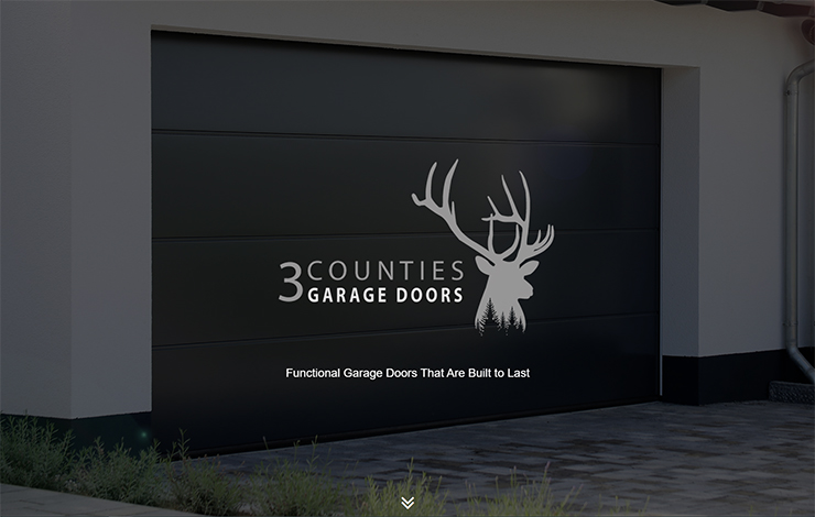 Website Design for Garage Doors in Grantham | 3 counties garage doors