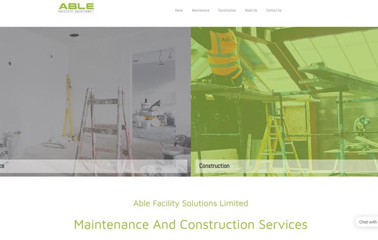 Able Facility Solutions | Maintenance and Construction Service