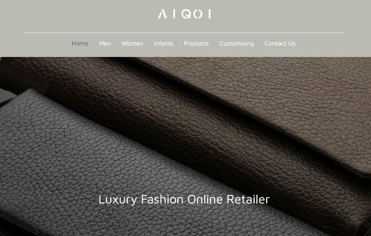 Website Design for Aiqoi | Online Retailer