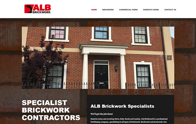 Specialist brickwork contractors | ALB Brickwork