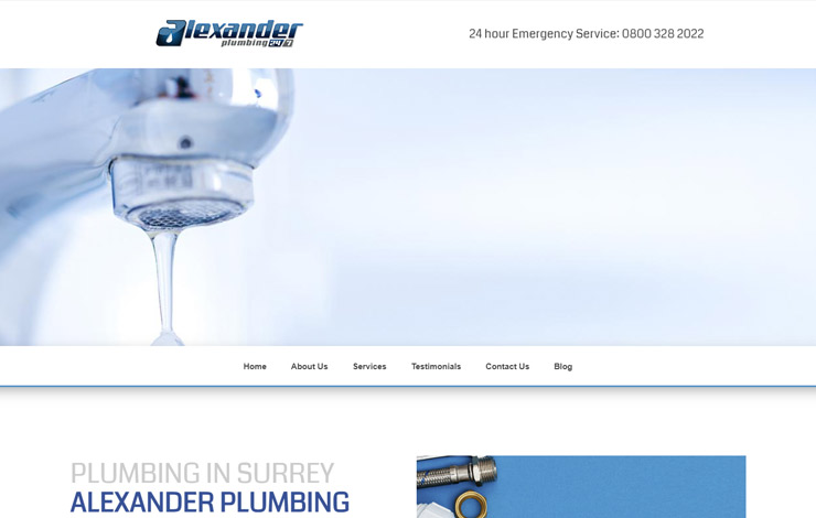 Alexander Plumbing | Plumbing in Surrey