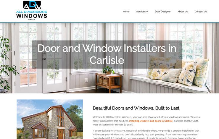 Door & Window Installers in Carlisle | All Dimensions Windows