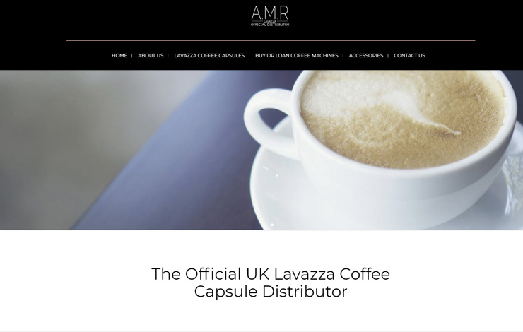 Official UK Lavazza Coffee Capsule Distributor