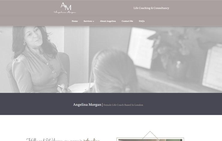 Angelina Morgan | Female Life Coaching in London