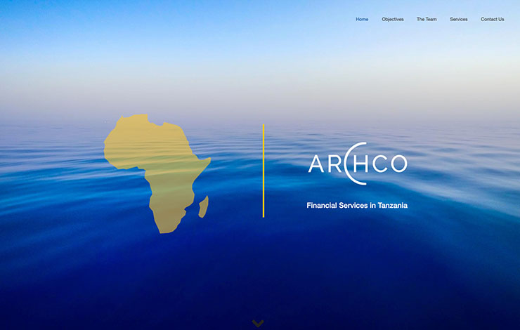 Website Design for Financial Services in Tanzania | Archco