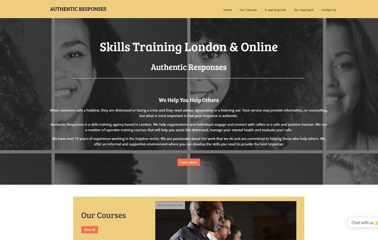 Authentic Responses | Skills Training London
