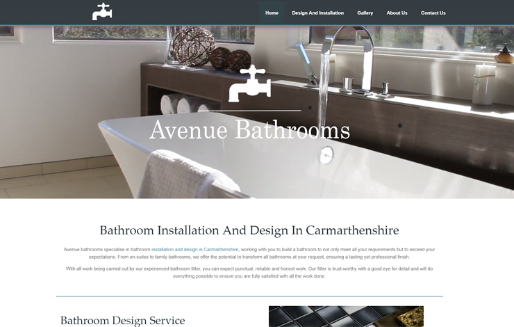 Bathroom Installation and Design in Carmarthenshire