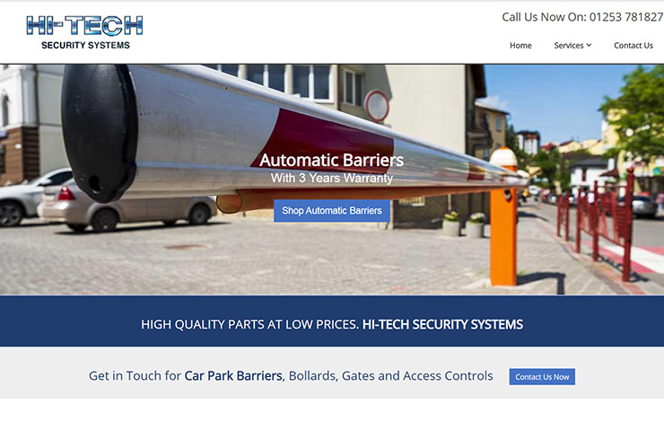 Car Park Barriers UK | Hi-Tech Security Systems