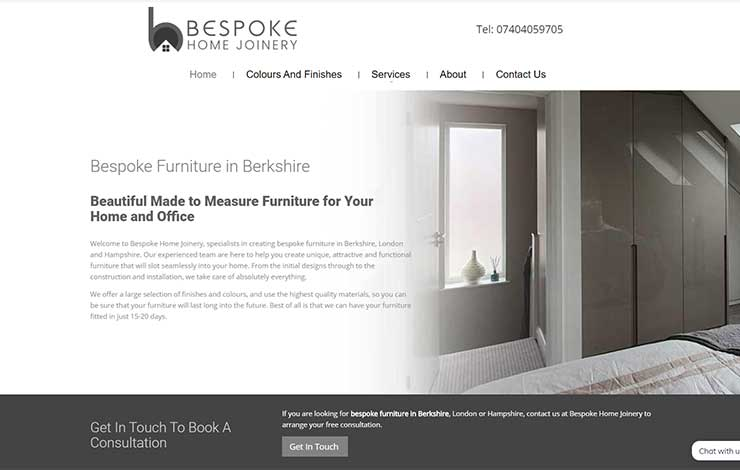 Bespoke Furniture in Berkshire | Bespoke Home Joinery