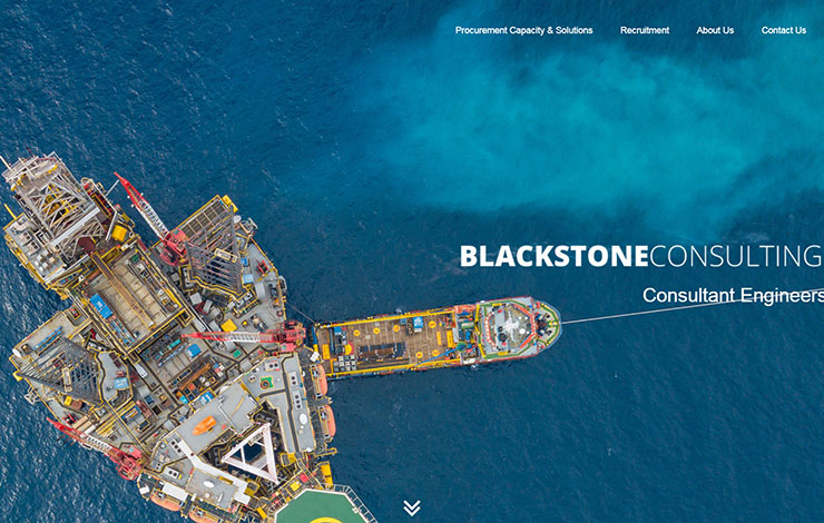 Website Design for Blackstone Consulting | Consultant Engineers in the UK