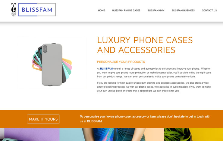 BLISSFAM | Luxury Branded Phone Cases and Accessories