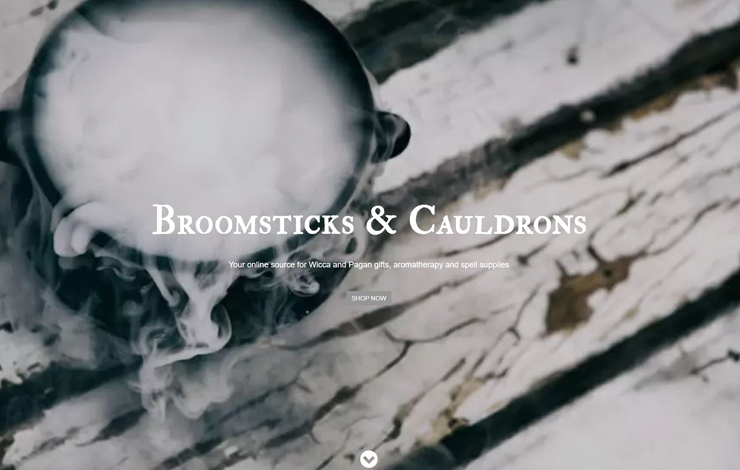 Broomsticks & Cauldrons | Traditional Witchcraft Supplies UK