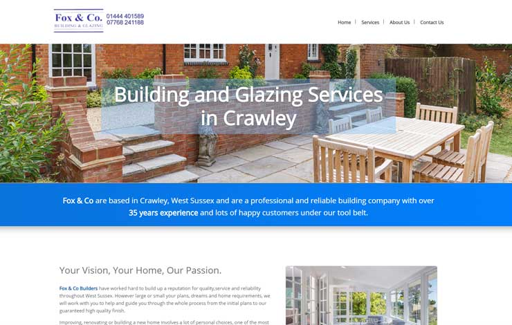 Building and conservatories in Crawley | Fox & Co