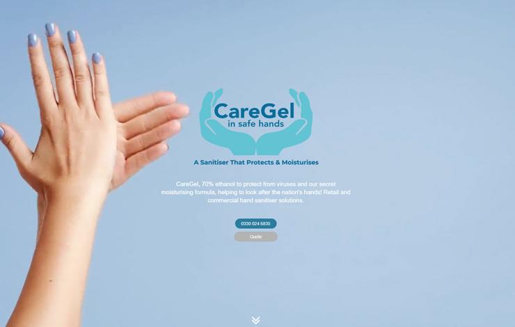 CareGel Moisturising Hand Sanitiser