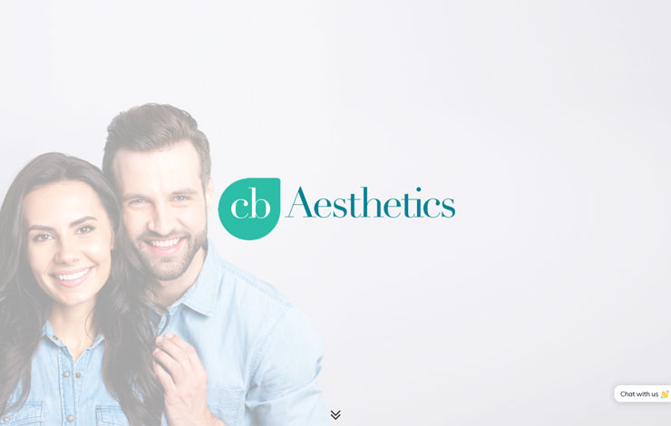 Website Design for CB Aesthetics | Injectable Treatments in Oxfordshire