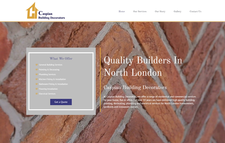 Builders in North London | Caspian Building Decorators