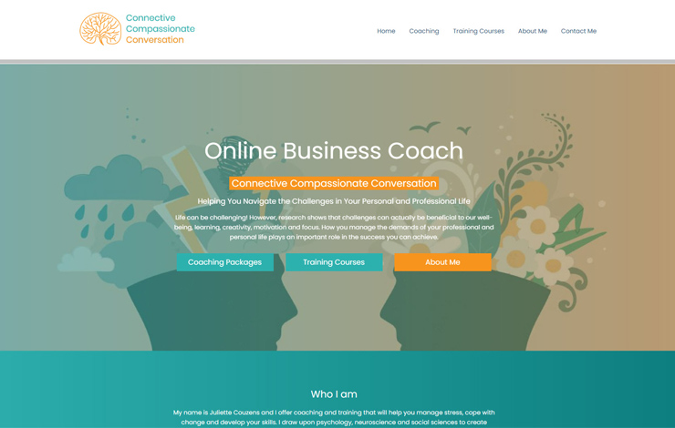 Online Business Coach | Connective Compassionate Conversation