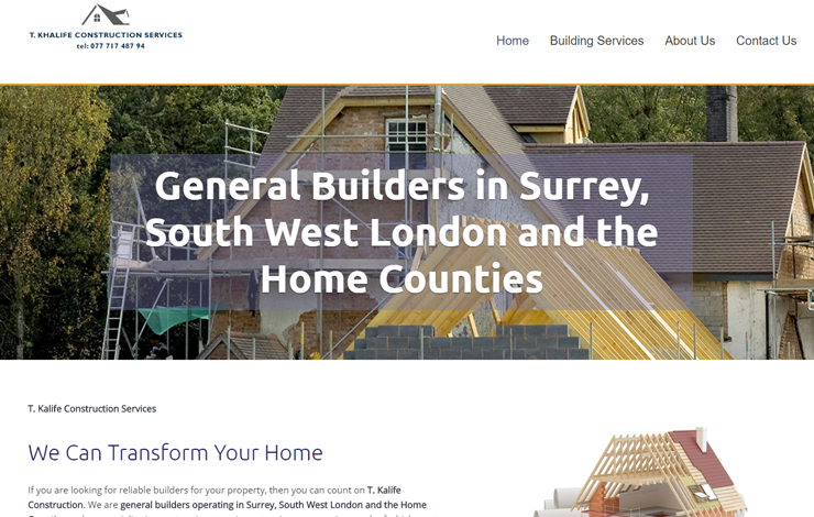 Builder in Surrey And The South East