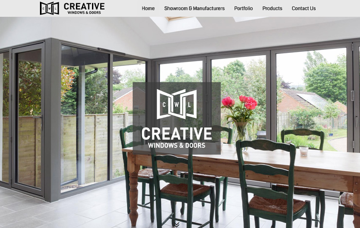 Website Design for Creative Windows | Windows and Doors in Surrey