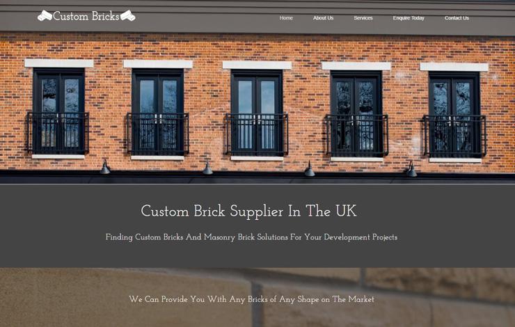 Custom Brick Supplier in the UK