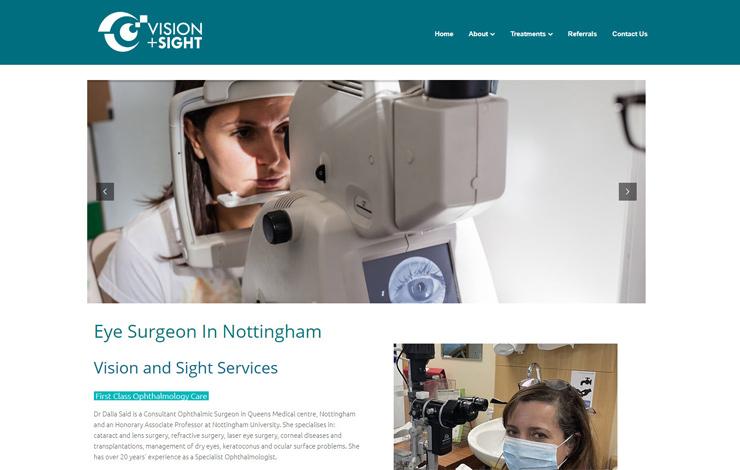 Eye surgeon in Nottingham | Dr Dalia Said