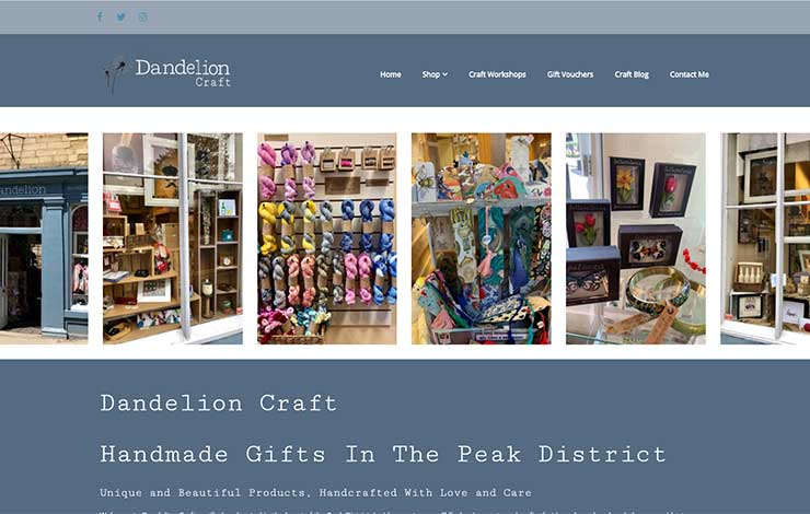 Dandelion Crafts | Handmade Gifts in The Peak District