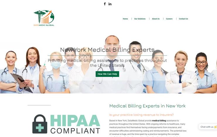 Medical Billing Experts in New York | DataMedic Global