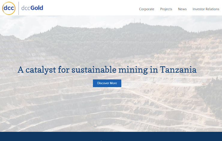 Sustainable mining in Tanzania | dcc Gold