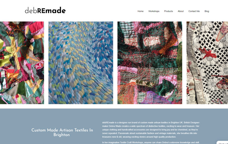 Artistan Textiles based in Brighton