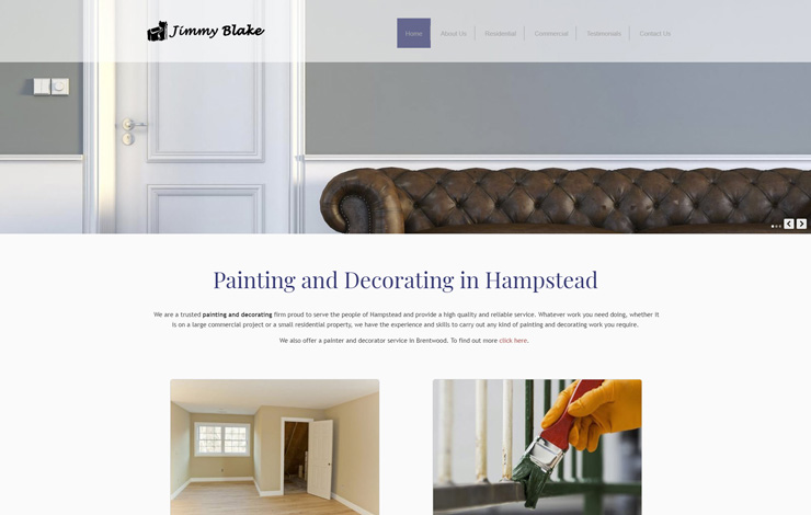 decorator in hampstead