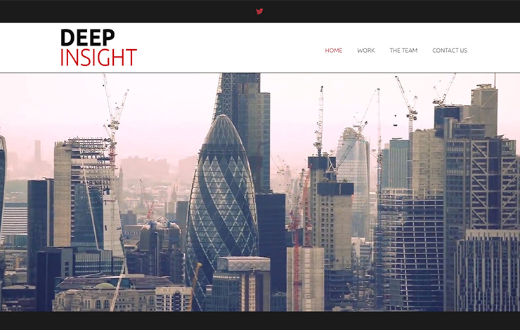 Website Design for Deep Insight | Leadership training