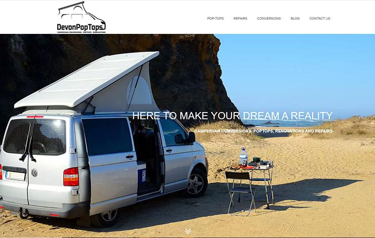 Devon PopTops | Camper Van PopTops and Conversions in Devon