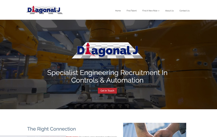 Engineering Recruitment | Controls and Automation | Diagonal J