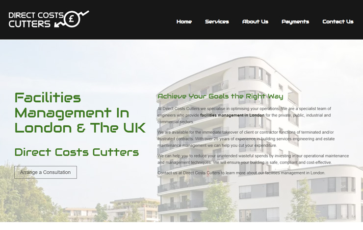 Facilities Management In London | Direct Costs Cutters