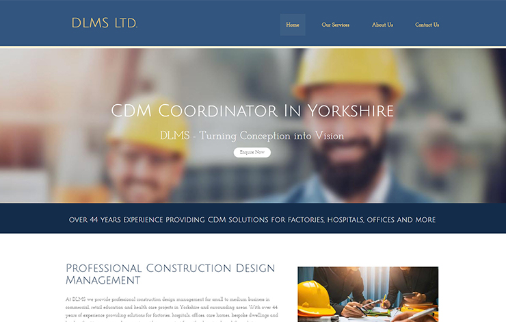 CDM Coordinator in Yorkshire | DLMS Ltd.