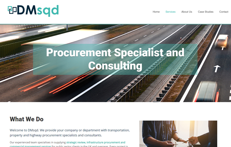 Strategic Review, Procurement & Commercial Management | DMsqd
