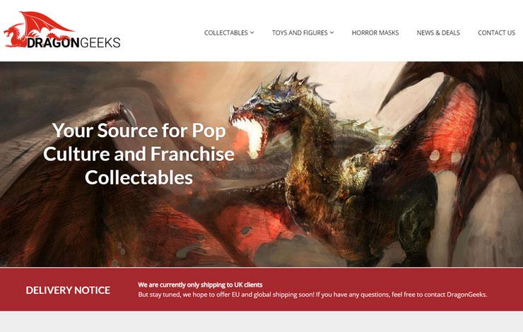 Dragon Geeks | Fantasy and Sci-fi Collectables and Memorabilia