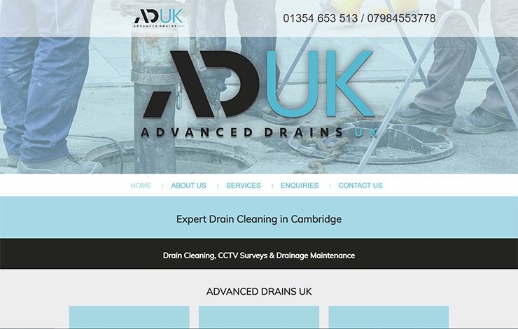 Drain Cleaning in Cambridge