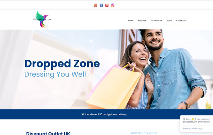 Dropped Zone | Discount Outlet in the UK