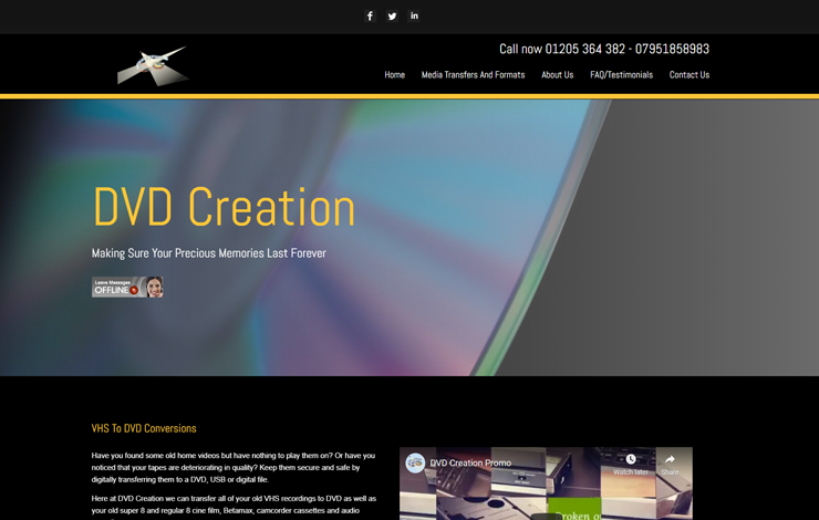 DVD Creation | VHS to DVD Conversions